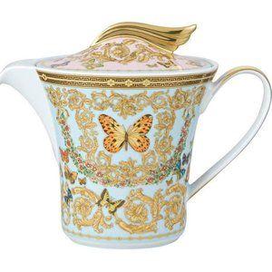 Versace Le Jardin Teapot -Authentic
